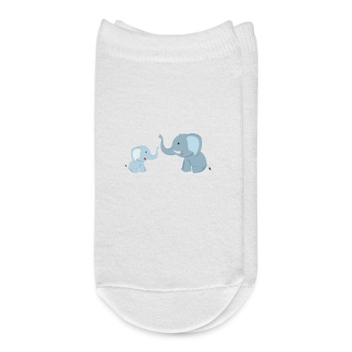 Father and Baby Son Elephant - Ankle Socks