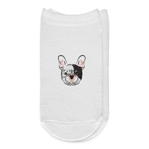 pngtree french bulldog dog cute pet - Ankle Socks