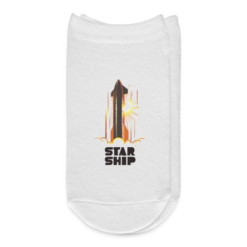 Star Ship Mars - Light - Ankle Socks