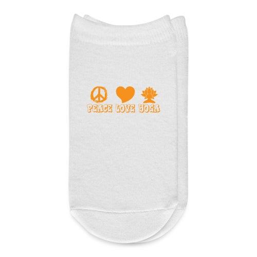 Peace Love Yoga - Ankle Socks