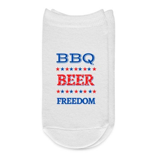 BBQ BEER FREEDOM - Ankle Socks