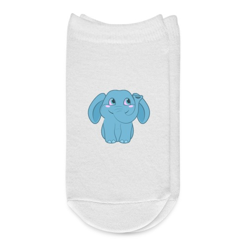 Baby Elephant Happy and Smiling - Ankle Socks