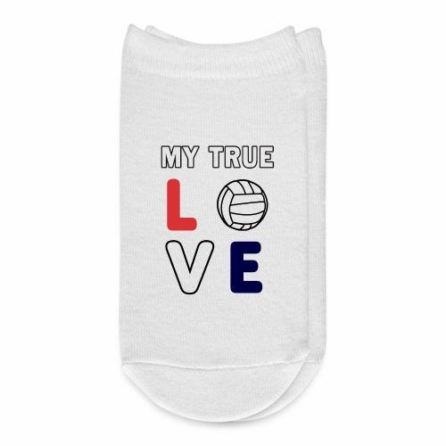 Volleyball My True Love Sportive V-Ball Team Gift. - Ankle Socks