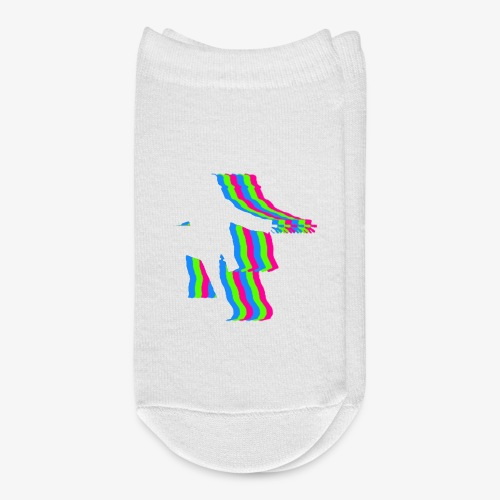 silhouette rainbow cut 1 - Ankle Socks