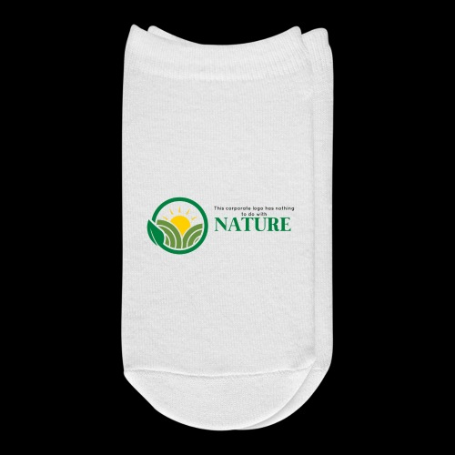 What is the NATURE of NATURE? It's MANUFACTURED! - Ankle Socks