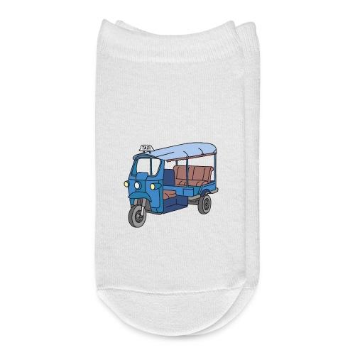 A blue tuktuk, auto rickshaw, Bajay - Ankle Socks
