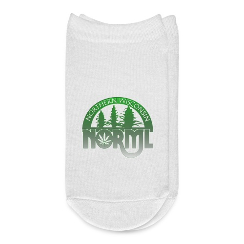 Fade to Green Northern Wisconsin NORML Logo - Ankle Socks