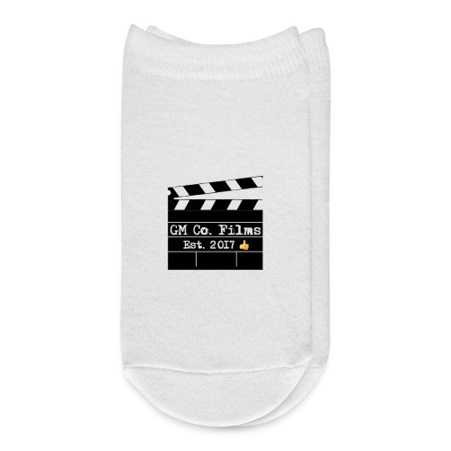 G M co Films logo + Subscribe combo - Ankle Socks