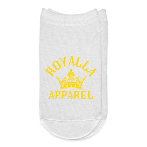 Royalla Apparel Gold Print - Ankle Socks