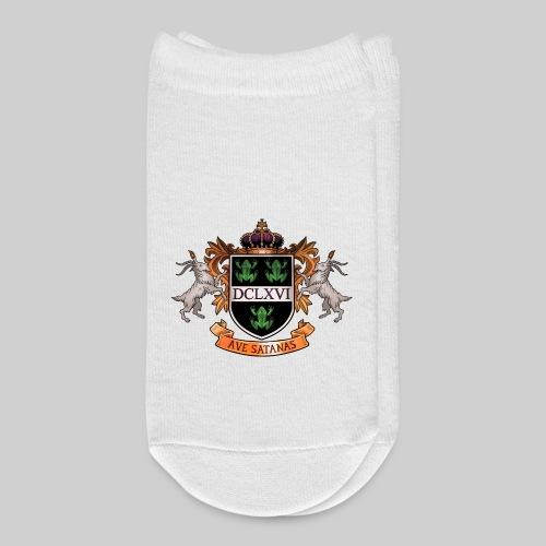 Satanic Heraldry - Coat of Arms - Ankle Socks