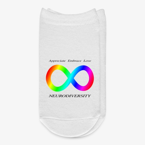Embrace Neurodiversity - Ankle Socks