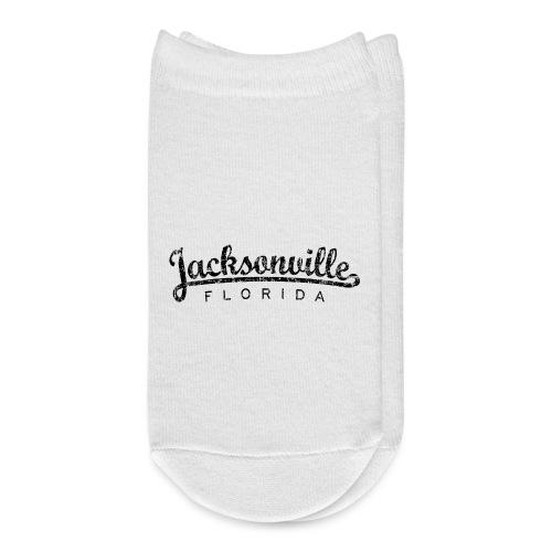 Jacksonville, Florida Classic (Ancient Black) - Ankle Socks