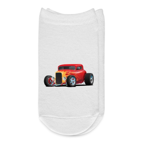 Classic Bold Red Custom Street Rod - Ankle Socks