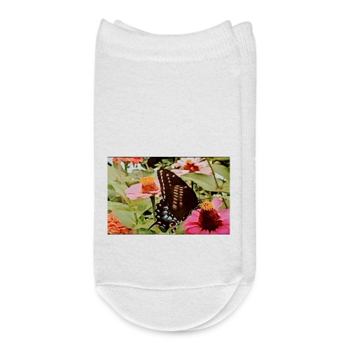 Butterflies are free to fly - Ankle Socks