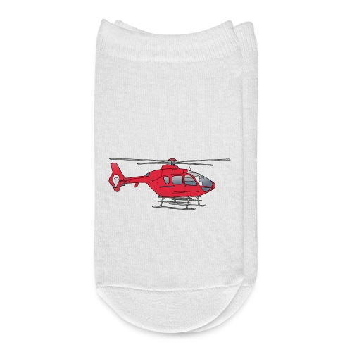 Red helicopter, chopper, eggbeater - Ankle Socks