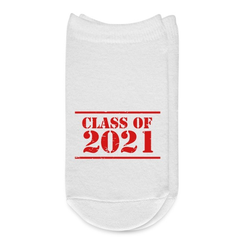 Class of 2021 stencil - Ankle Socks
