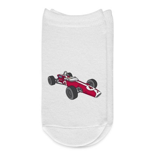 Red racing car, racecar, sportscar - Ankle Socks