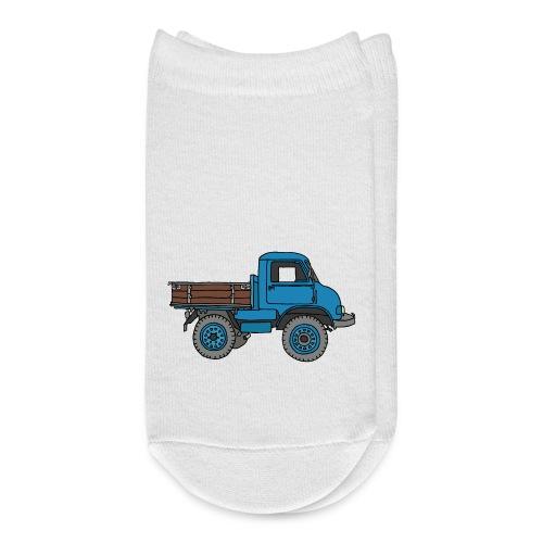 Blue off-road truck - Ankle Socks