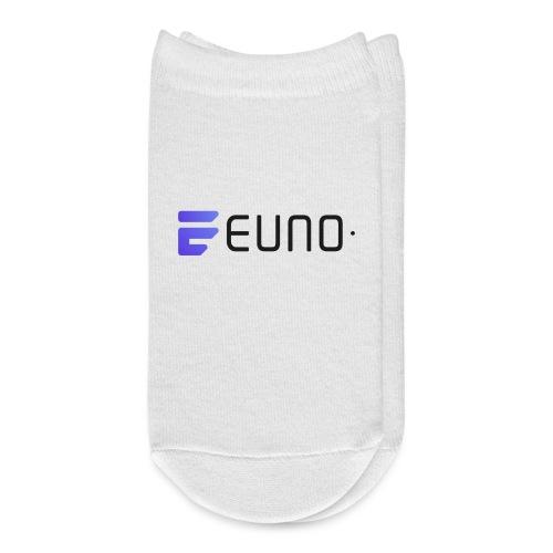 EUNO LOGO LANDSCAPE BLACK FONT - Ankle Socks