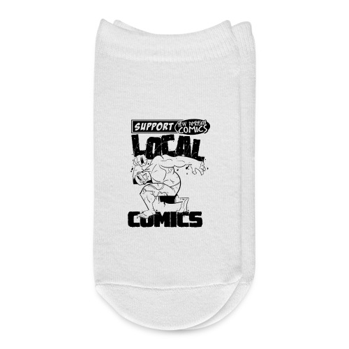 Support Local Comics NDC By Geoff Munn - Ankle Socks