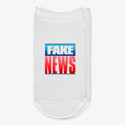 Fake News Network Logo - Ankle Socks