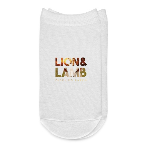 The lion and the lamb - Ankle Socks