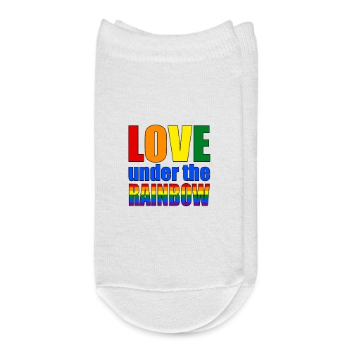 Somewhere under the rainbow... Celebrate Love! - Ankle Socks