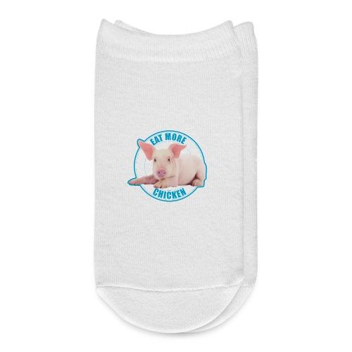 Eat more chicken - Sweet piglet print - Ankle Socks