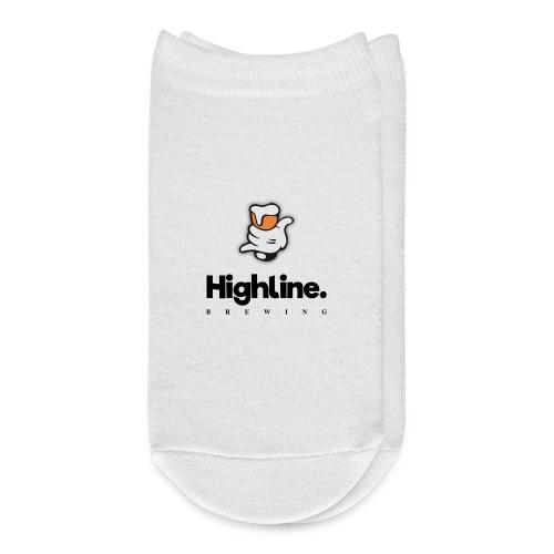 Highline Brewing Logo - Big - Ankle Socks