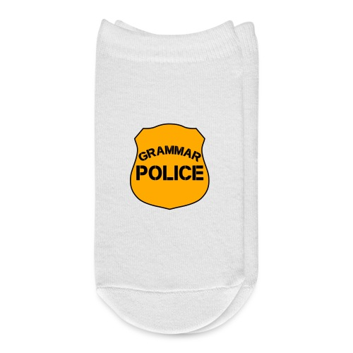 Grammar Police - Ankle Socks
