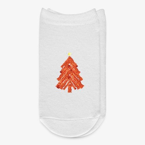 Funny Bacon and Egg Christmas Tree - Ankle Socks