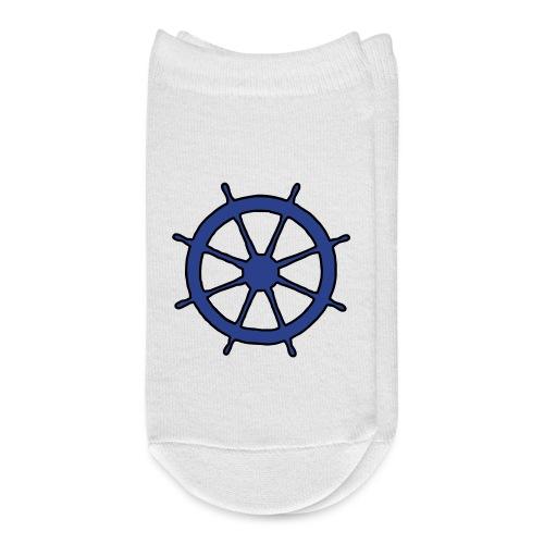 Steering Wheel Sailor Sailing Boating Yachting - Ankle Socks