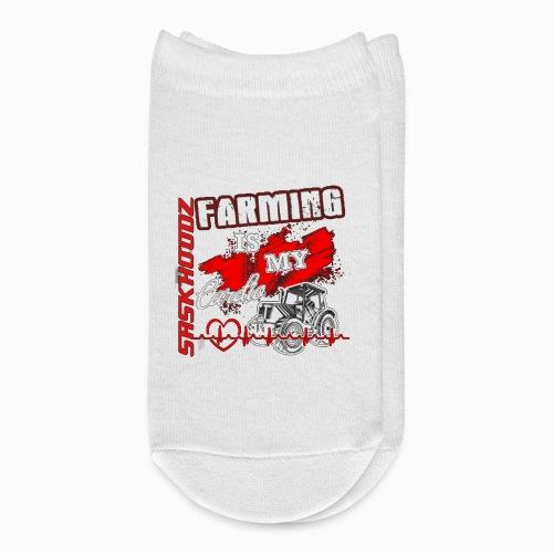 saskhoodz farming - Ankle Socks