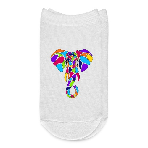 Art Deco elephant - Ankle Socks