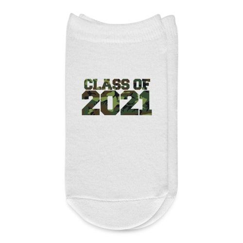 Class of 2021 CAMO - Ankle Socks