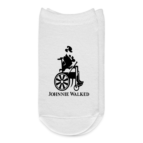 Johnnie Walked, Wheelchair fun, whiskey and roller - Ankle Socks