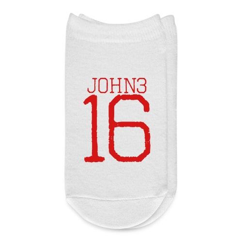 john 3:16 bible verse - Ankle Socks