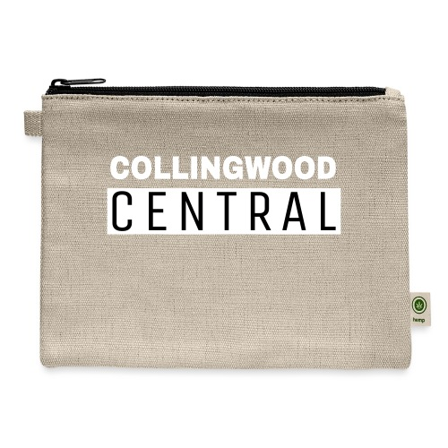 BLK Collingwood Central Logo - Carry All Pouch