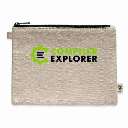 Compiler Explorer Logo - Carry All Pouch