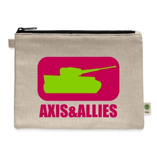 Axis & Allies Tank Logo - Dark - Carry All Pouch