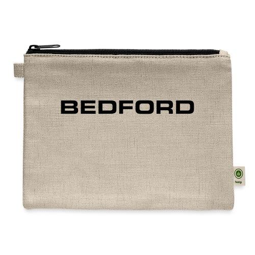 Bedford script emblem - AUTONAUT.com - Carry All Pouch