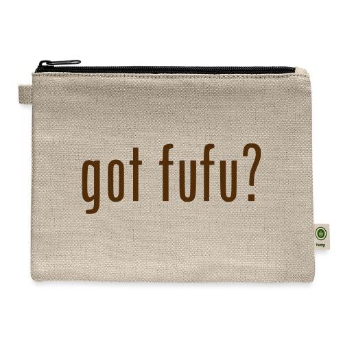 gotfufu-black - Carry All Pouch