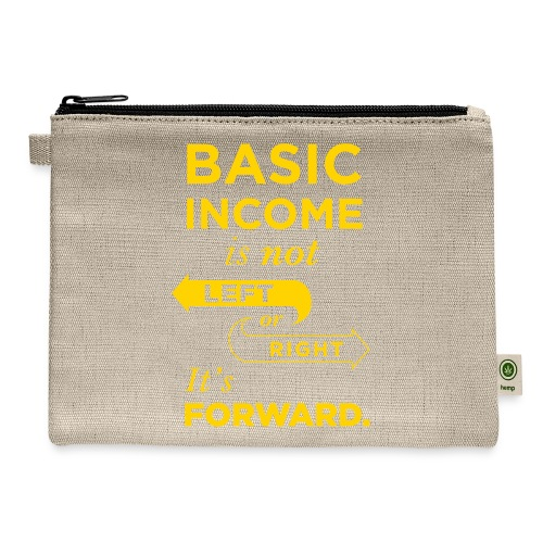 Basic Income Arrows V.2 - Carry All Pouch