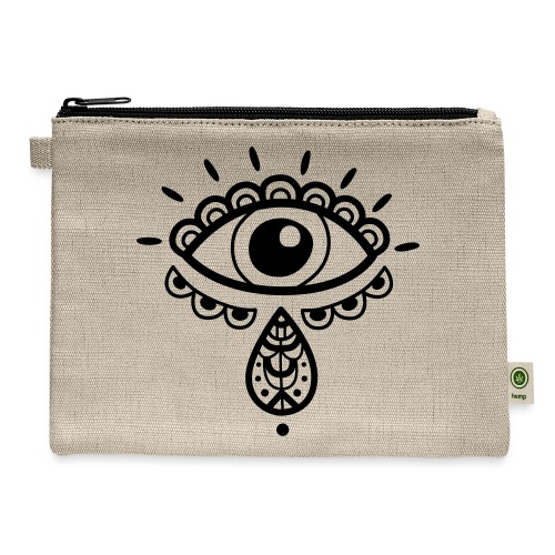 Cosmos 'Teardrop' - Carry All Pouch