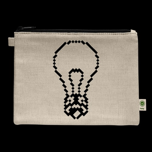 lightbulb - Carry All Pouch