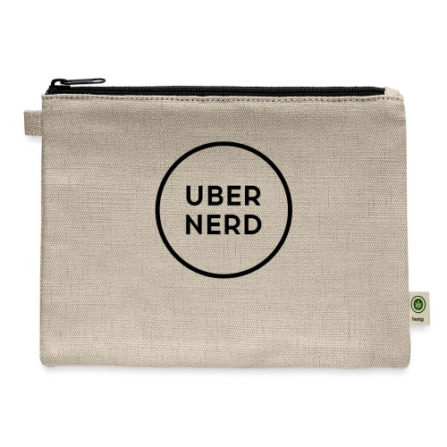 uber nerd logo - Carry All Pouch