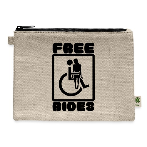 Free rides, wheelchair humor - Carry All Pouch