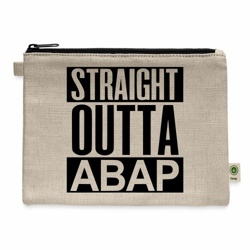 StraightOuttaABAP - Carry All Pouch
