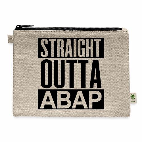 StraightOuttaABAP - Carry All Pouch