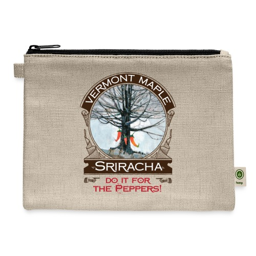 Vermont Maple Sriracha - Carry All Pouch